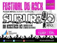 Un nuevo espectáculo de rock en barrio Infico