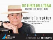 19ª Fiesta del Litoral en Plaza Carlos Gardel con la presencia de Antonio Tarragó Ros