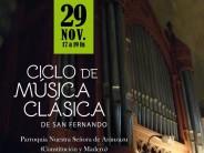 Ciclo de Música Clásica en la Parroquia Nuestra Señora de Aránzazu