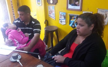 Micaela va a tener su máquina Perkins de escritura braille que le permitirá aprender a leer y escribir