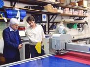 La empresa North Sails S.A. puso en funcionamiento un plotter de última generación