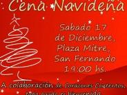 """Cena solidaria en Plaza Mitre: """"Compartir la mesa con el otro es el sentido de la Navidad"""""""