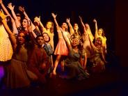 Cierre de fin de año de la Escuela Municipal de Comedia Musical en el Martinelli