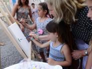 Se realizó la muestra de fin de año del 'Taller de Arteterapia' para niños con autismo