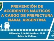 """Prefectura brindará una charla sobre """"Prevención de accidentes náuticos"""" en el Club San Fernando"""