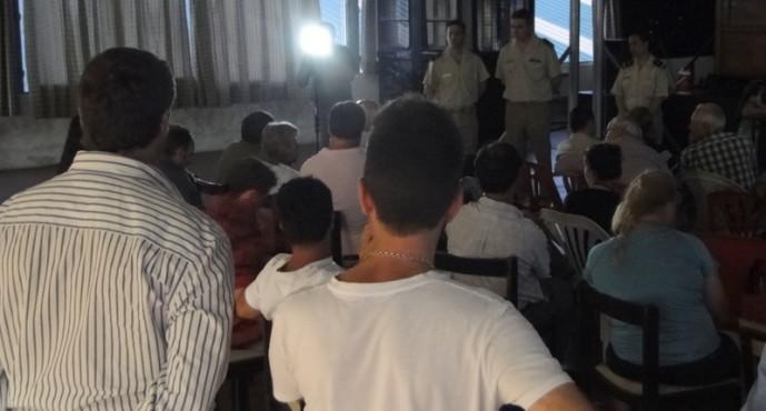 Se realizó una charla sobre seguridad náutica a cargo de Prefectura en el Club San Fernando