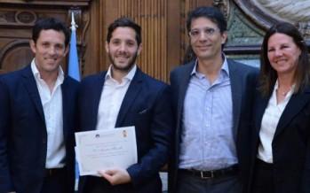 Ibarra, Gilardi, Rey y otros Leones fueron homenajeados por la Legislatura porteña