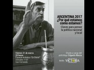 Edgardo Mocca brindará una charla en el espacio artístico En Breve
