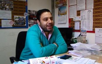 """Nicolás Parés: """"La foto que queríamos los docentes era la de la Escuela Itinerante"""""""