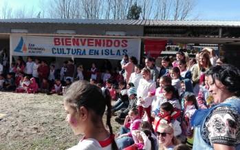 Se realizó un encuentro cultural para la comunidad educativa del Delta sanfernandino