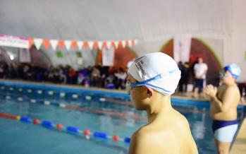 En el Poli N°2 se realizó el torneo interpolideportivos de natación