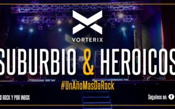 Suburbio Rock se presentará junto a Heroicos Sobrevivientes en el Teatro Vorterix