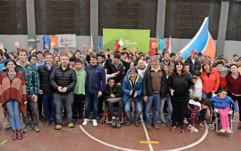 El Poli N°1 fue sede del encuentro de discapacidad de la Región Norte 2