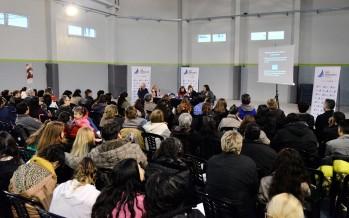 Se realizó un taller sobre violencia familiar en el Poli N°6