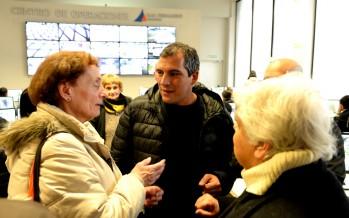 Un grupo de vecinos visitó el Centro de Operaciones de nuestra ciudad