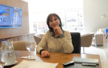 """Alicia Aparicio: """"Formo parte de un proyecto y voy a estar donde el intendente crea que puedo ser útil"""""""