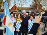 Se realizó el homenaje al General San Martín