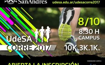 Comenzó la inscripción para UdeSA corre 2017