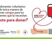 Jornada de concientización para la donación de sangre