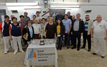 Comenzó la Copa de Bochas 'Ciudad de San Fernando'