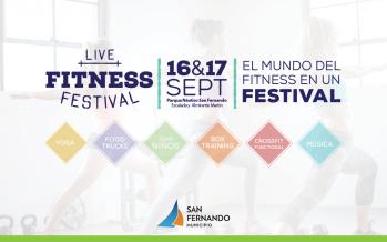 Este finde llega llega el 'Live Fitness Festival' al Parque Naútico