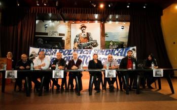 Jorge Taiana encabezó un plenario sindical en la Unión Ferroviaria de Victoria