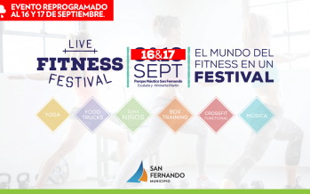 El 'Live Fitness Festival' se reprogramó para el próximo fin de semana