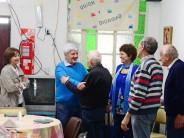 """Almuerzo en el Centro de Jubilados y Pensionados """"Unión y Dignidad"""""""