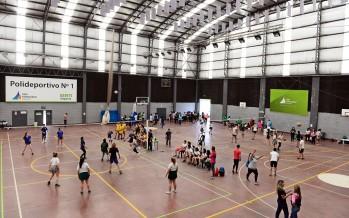 Se disputaron los 4° Torneos Intercolegiales Municipales en el Poli N° 1