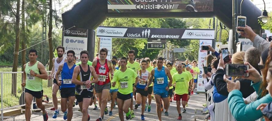 """Con más de 500 atletas se realizó la maratón """"UdeSA corre 2017"""""""