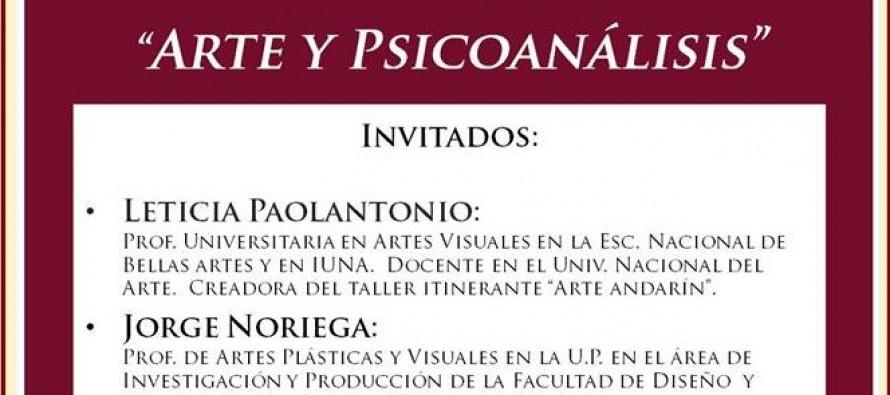 Continúa el ciclo anual de la APSaT con una charla sobre arte y psicoanálisis