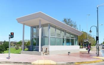 Avanza la construcción de la posta policial en Carlos Casares y Acceso