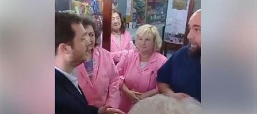 El ministro de Salud visitó el Hospital Cordero y los trabajadores le plantearon sus reclamos