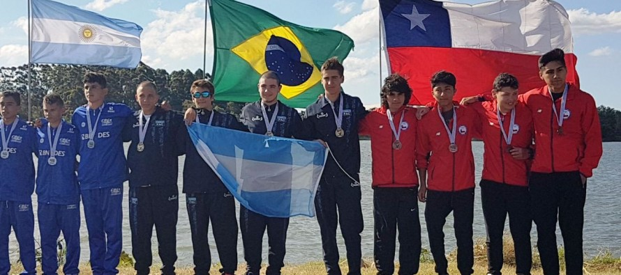 Deportistas de nuestra ciudad ganaron medallas sudamericanas y nacionales en canotaje