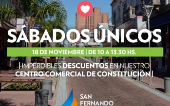 'Sábados Únicos': llegan los descuentos al centro comercial de la calle Constitución