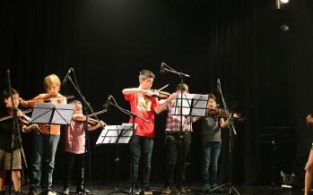 Los talleres culturales realizaron su exhibición en el Teatro Martinelli