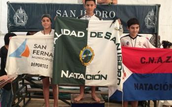 El equipo de natación de nuestra ciudad logró sus primeras medallas en torneos federativos