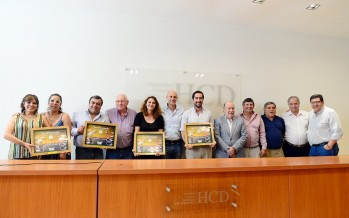 El Concejo Deliberante reconoció a los concejales que concluyen su mandato
