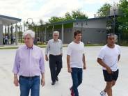 El Polideportivo N° 9 ubicado en el barrio Presidente Perón se inaugurará en enero