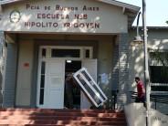 El 'Programa de Ayuda a Escuelas Provincial' llevó ventiladores y heladeras a las Escuelas N° 1, 6, 8 y 21