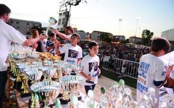 Se realizó en el Poli N°1 la entrega de premios de la Liga Municipal de Fútbol Infantil