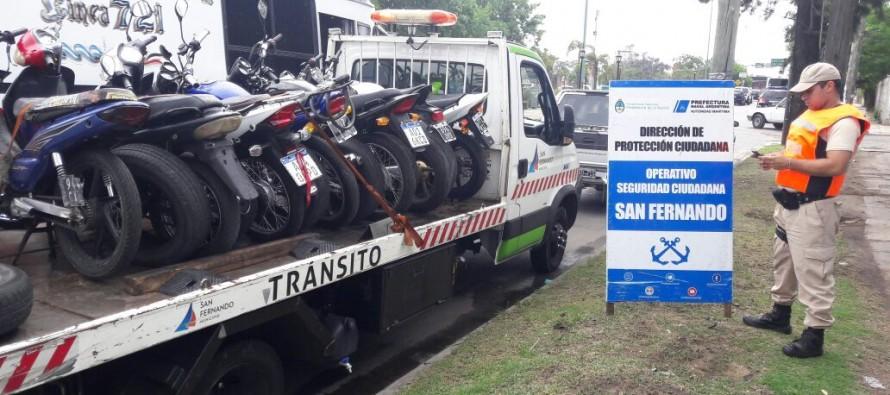 Dos detenidos y secuestro de autos y motos en diversos operativos de Prefectura en nuestra ciudad