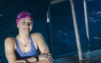 Delfina Pignatiello, bicampeona mundial juvenil en natación, estudiará Comunicación en la Universidad de San Andrés
