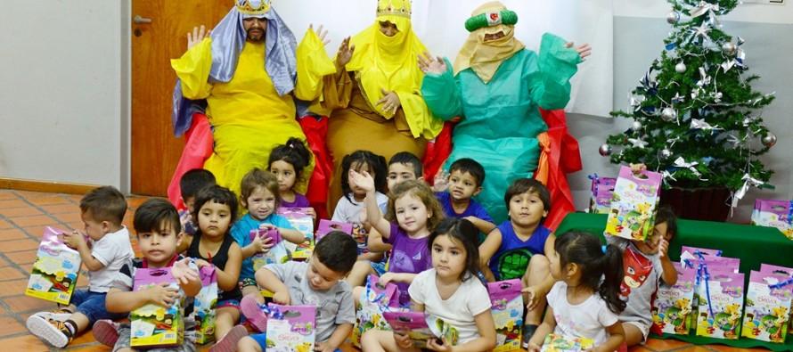 Los Reyes Magos visitaron las Unidades de Desarrollo Infantil
