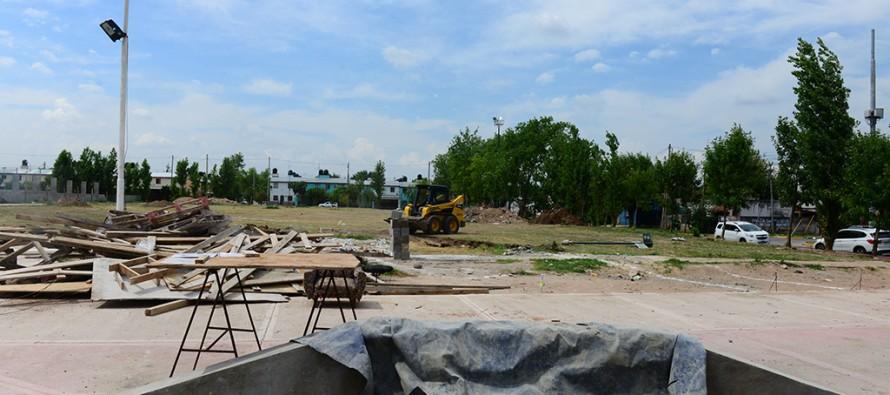 Avanzan las obras de la nueva plaza de los barrios San Ginés y San Roque