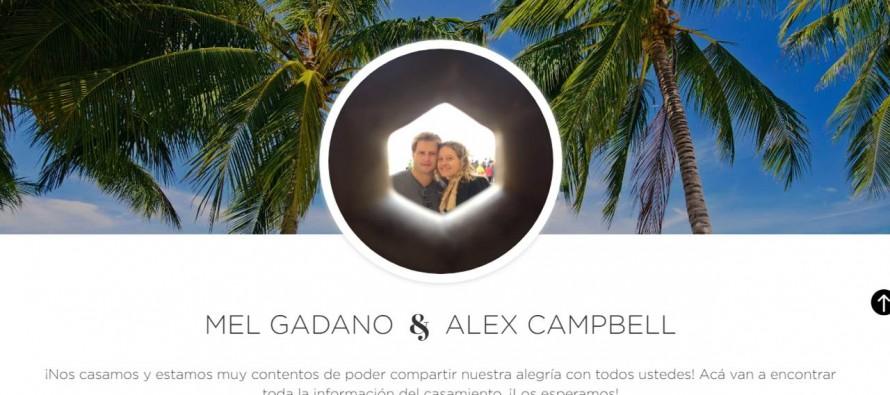 Alex Campbell celebró su casamiento en el Palacio Sans Souci junto a funcionarios nacionales y provinciales