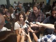 Duras críticas de Matías Molle, junto a la diputada nacional Laura Alonso, al cierre de las escuelas del Delta