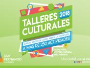 Abierta la inscripción a los talleres culturales municipales