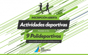 Iniciaron las actividades anuales en los polideportivos de nuestra ciudad