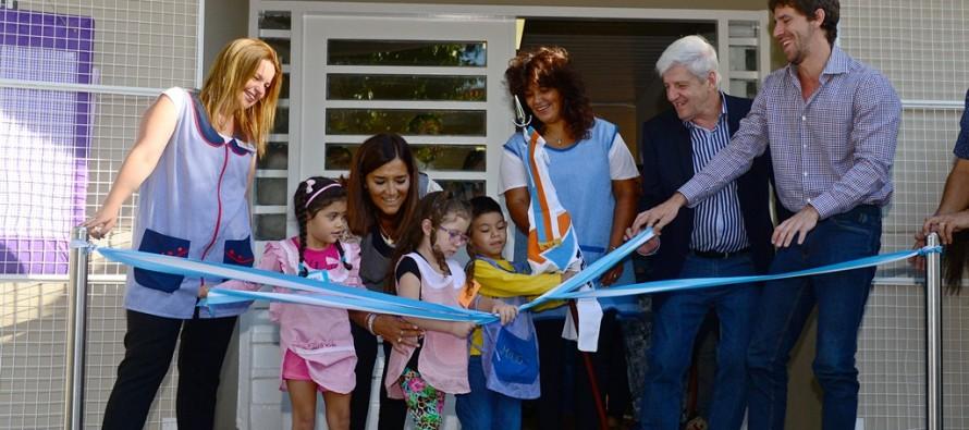 Se inauguraron las nuevas instalaciones del Jardín N° 910